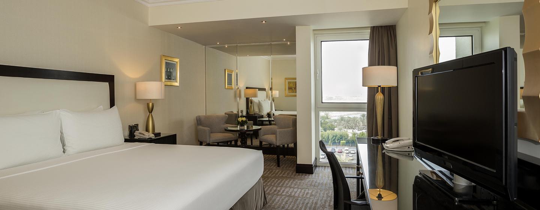 Hôtel Hilton Abu Dhabi, EAU - Chambre avec très grand lit