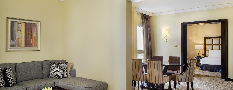 Hôtel Hilton Abu Dhabi, EAU - Suite résidentielle