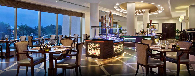 Im Hotelrestaurant können Sie das leckere Buffet genießen