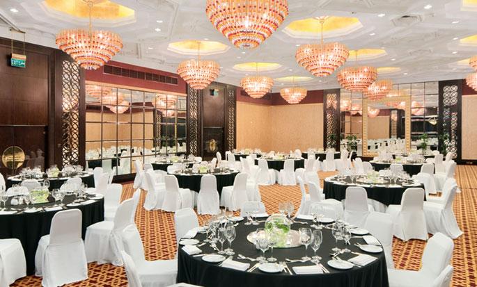 Hôtel Hilton Abu Dhabi, EAU - Salle de réception