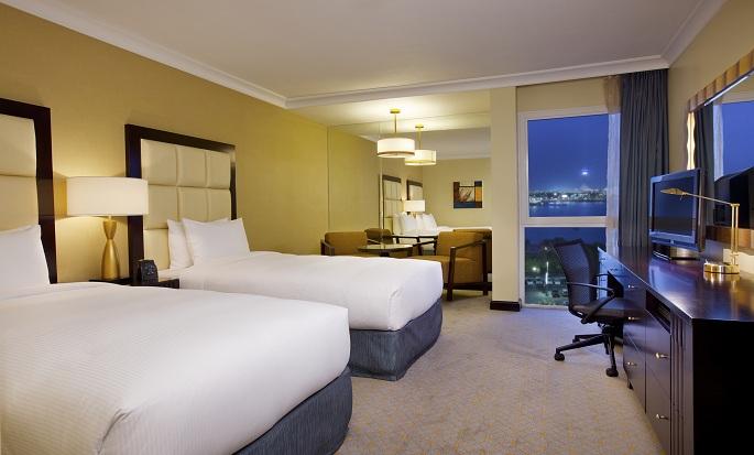 Hôtel Hilton Abu Dhabi, EAU - Chambre avec deux lits
