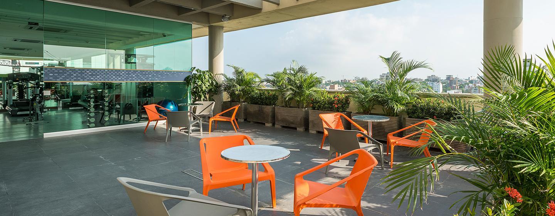 Hotel Hampton by Hilton Barranquilla, Colombia - Terraza