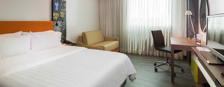 Hotel Hampton by Hilton Barranquilla, Colombia - Habitación con cama king