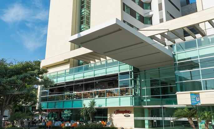 Hotel Hampton by Hilton Barranquilla, Colombia - Entrada
