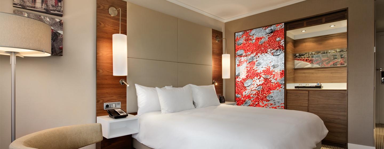 Hotel Hilton Barcelona, España - Habitación con cama King
