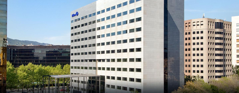 Herzlich willkommen im modernen Hotel im Finanzviertel von Barcelona