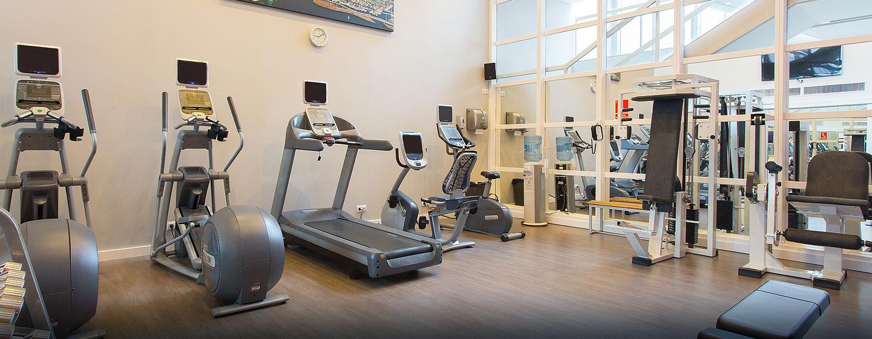 Im modernen Fitness Center bleibt Ihr Training nicht auf der Strecke