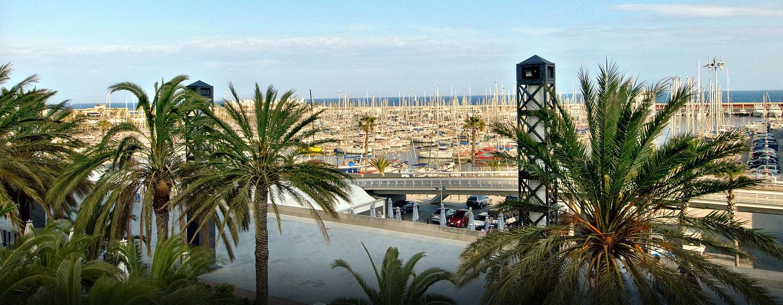 Das Hotel befindet sich unweit von vielen Attraktionen Barcelonas