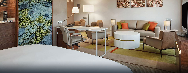 Hotel Hilton Barcelona, España - Suite tipo Alcove