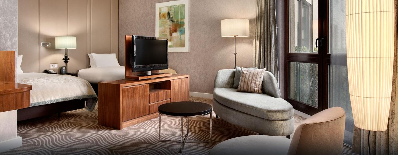 Hôtel Hilton Berlin, Allemagne - Suite d'angle