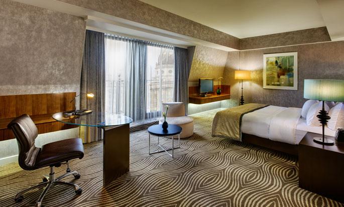 Hilton Berlin Hotel, Tyskland – Hotellets fasad