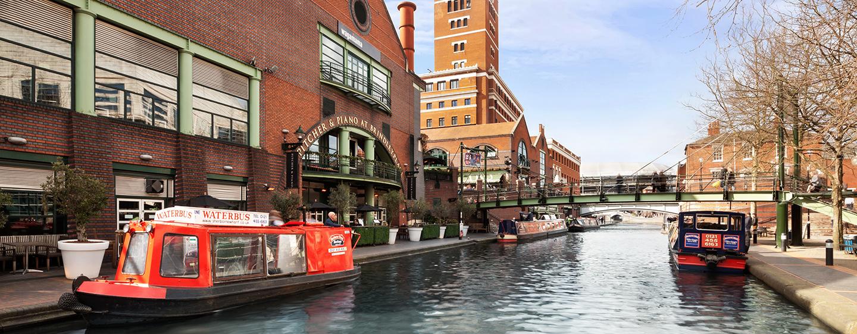 Besuchen Sie auf Ihrer Reise Sehenswürdigkeiten wie die Kanäle in Birmingham