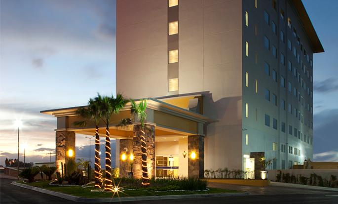Hampton Inn by Hilton Silao-Aeropuerto Bajio, Guanajuato MX - Fachada del hotel