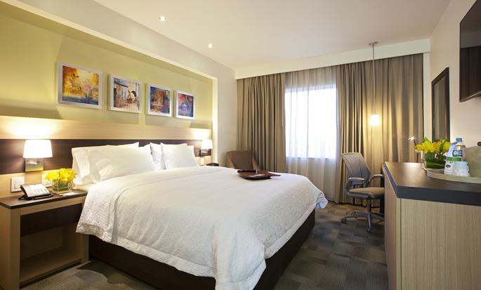 Hampton Inn by Hilton Silao-Aeropuerto Bajio, Guanajuato MX - Habitación con cama King