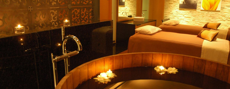 Im luxeriösen Spa werden Ihnen verschiedene Arten von Behandlungen angeboten
