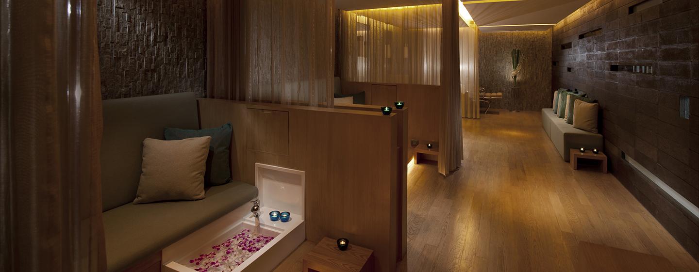Im Spa des Luxushotels stehen Ihnen Friseure und Kosmetiker zur Verfügung