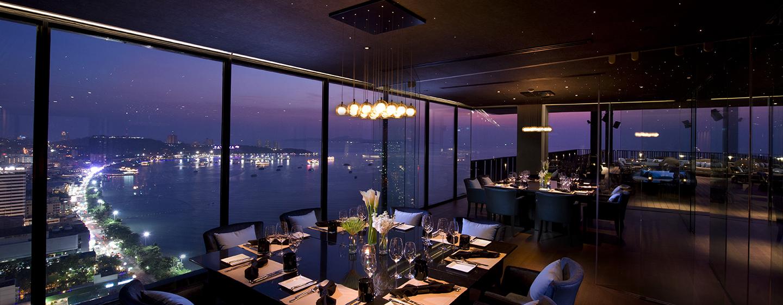 Im Horizon können Sie in einem der drei Separes dinieren