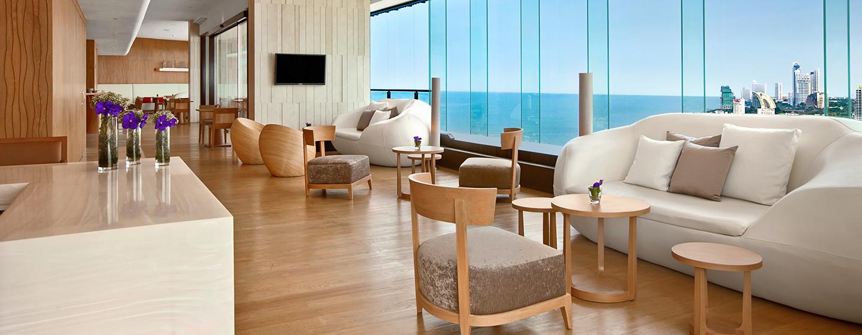 Die Gäste der Executive Zimmer und Suiten haben Zugang zur wunderschönen Executive Lounge in der obersten Etage des Luxushotels