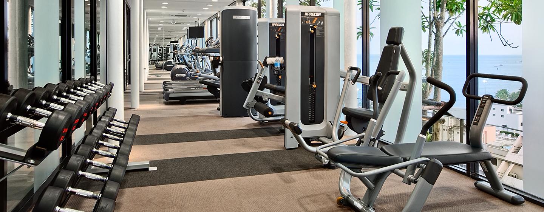 Ihrem Kraft- und Cardiotraining können Sie im modernen Fitness Center nachgehen