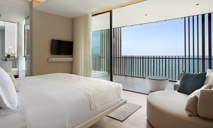 Hilton Pattaya - Guest Room