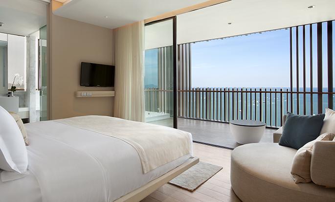 Hilton Pattaya– Zimmer
