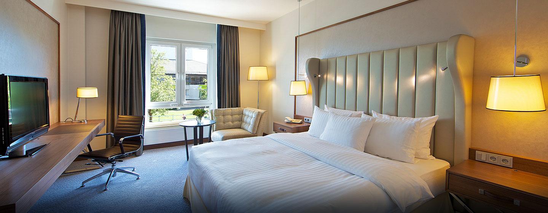 Die Deluxe Zimmer im Hotel verfügen über Rheinblick