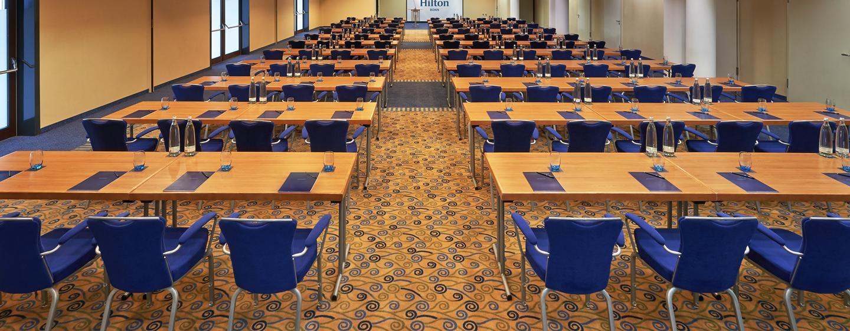 Entsprechend Ihrer Veranstaltung kann der Ballsaal auf Wunsch angepasst werden