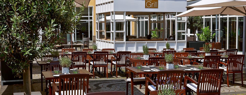 Hilton Bonn - The Grill - Terrasse