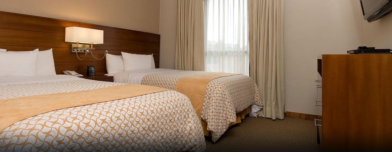 Hotel Embassy Suites by Hilton Bogotá - Rosales - Colombia - Suite con dos camas Queen