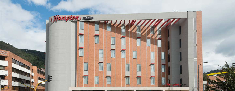 Hampton by Hilton Bogotá - Usaquén, Colombia - Fachada del hotel