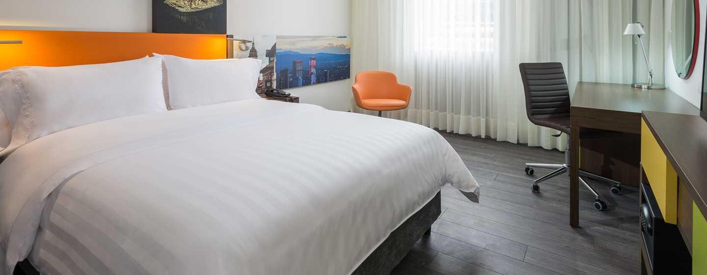 Hampton by Hilton Bogotá - Usaquén, Colombia - Habitación con cama King