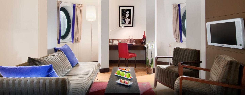 Luxus und großzügige Zimmer können Sie in der hellen Junior Suite erleben