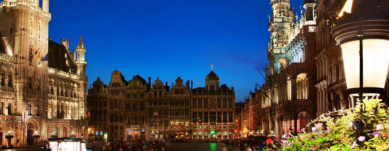 Viele Sehenswürdigkeiten Brüssels sind, dank der idealen Lage des Hotels, zu Fuß zu erreichen