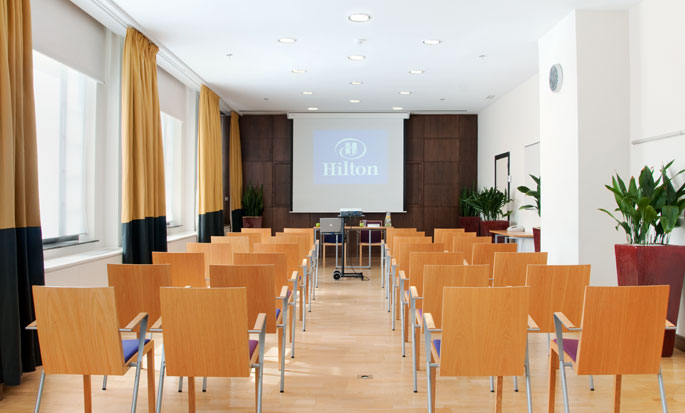 Hilton Brussels City, Belgium - Meeting Room