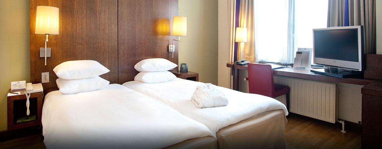 Hôtel Hilton Brussels City, Belgique - Lits jumeaux