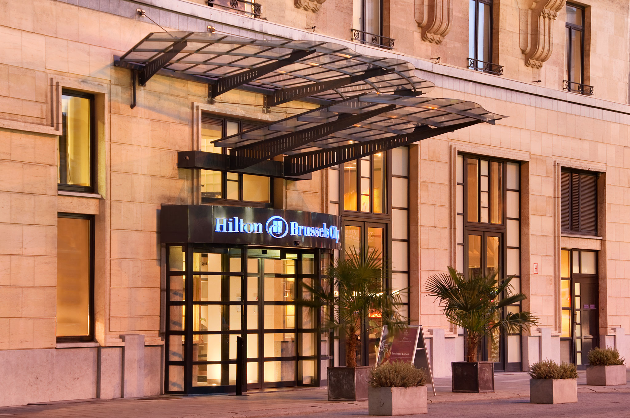 hilton hotels resorts belgique