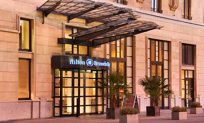 Hôtel Hilton Brussels City, Belgique - Extérieur de l'hôtel