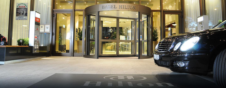 Herzlich willkommen im 5-Sterne Luxushotel in zentraler Lage in Basel