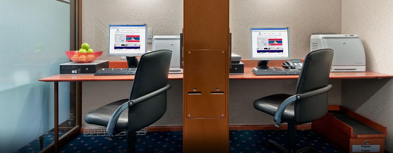 Erledigen Sie Ihre Arbeit unkompliziert im 24-Stunden geöffneten Business Center