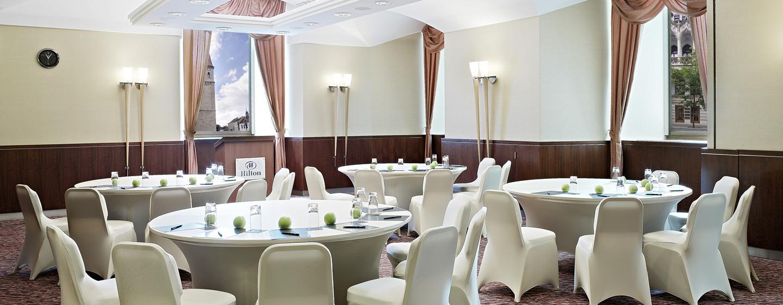 Im Hilton Budapest Hotel stehen Ihnen 24 flexible Tagungsräume zur Auswahl