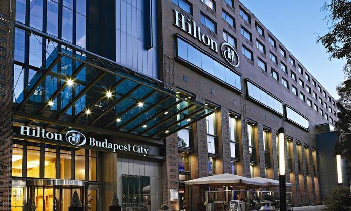 Hotel Hilton Budapest City, Węgry – Fasada hotelu