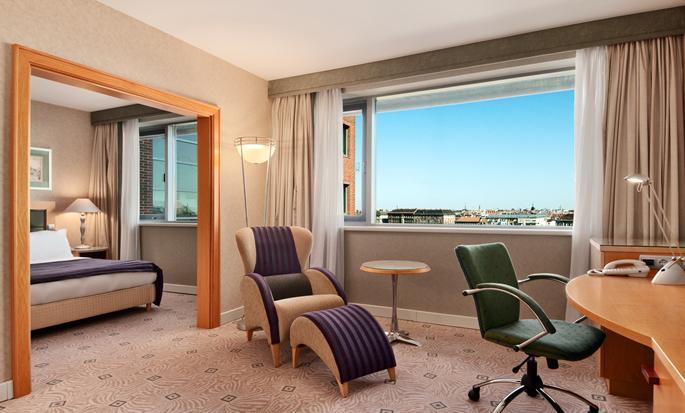 Hilton Budapest City, Węgry - Apartament Junior
