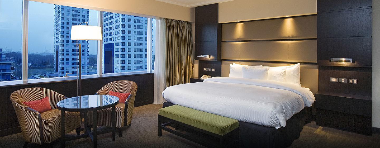 Hotel Hilton Buenos Aires, Argentina - Dormitorio de la suite Executive