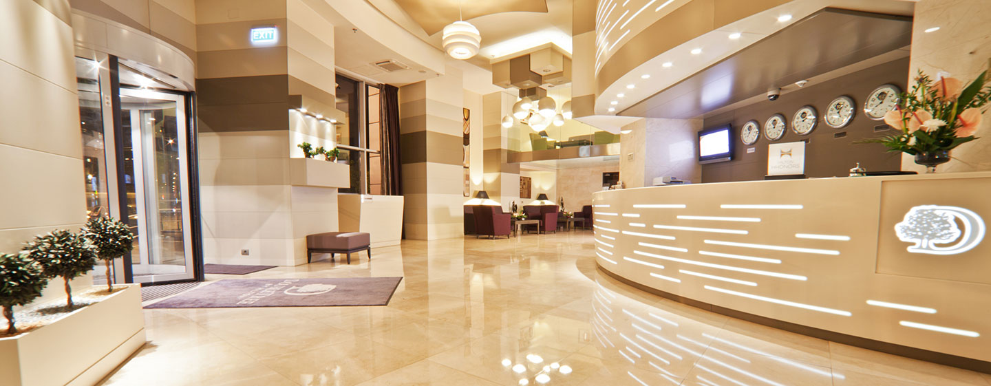 DoubleTree by Hilton Hotel Bucharest - Unirii Square, Romania - Reception