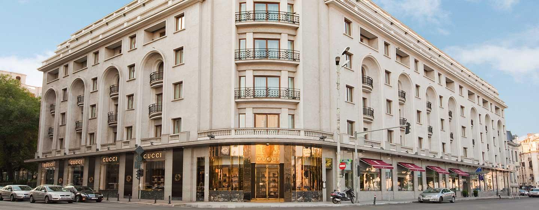 Herzlich willkommen im schönen historischen Hotel im Stadtzentrum von Bukarest