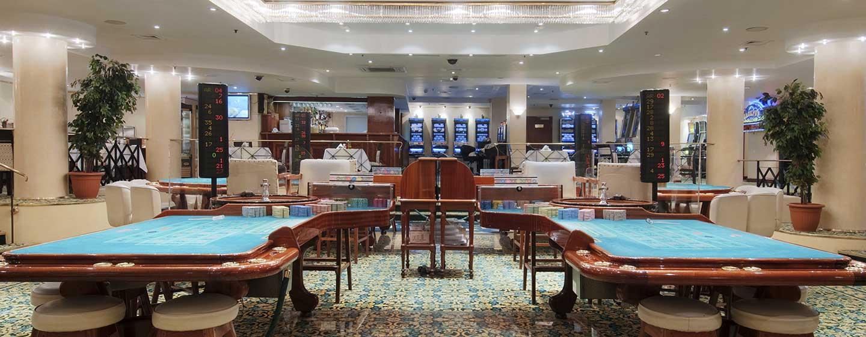 Eine interessante Abwechslung bietet Ihnen das hoteleigene Casino