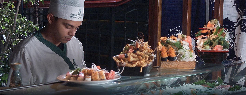 Hotel Embassy Suites by Hilton Caracas, Venezuela - Barra de sushi