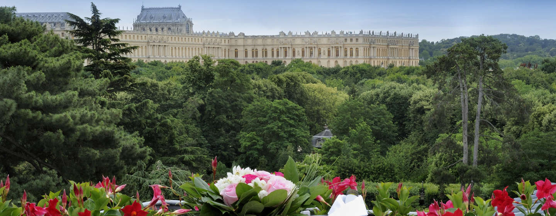 Ausblick von der Terrasse der Suite