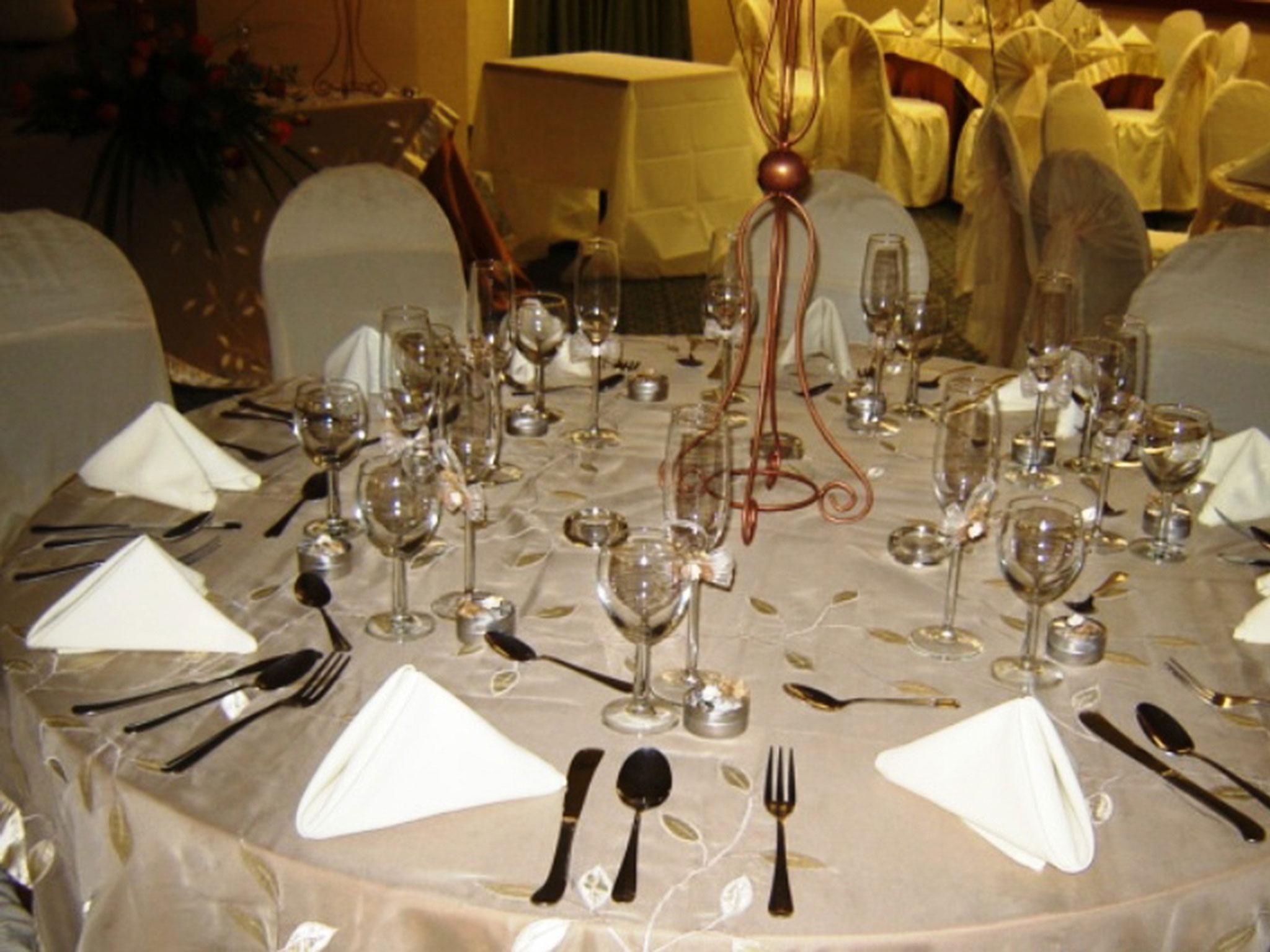 Planeamiento de la boda de negocios