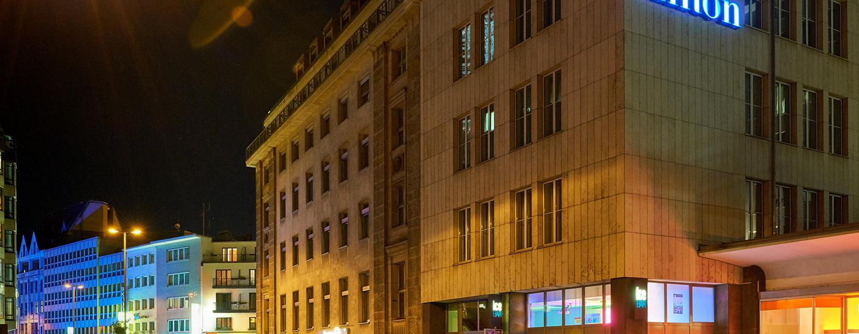 Unweit des Kölner Doms befindet sich das Hilton Cologne
